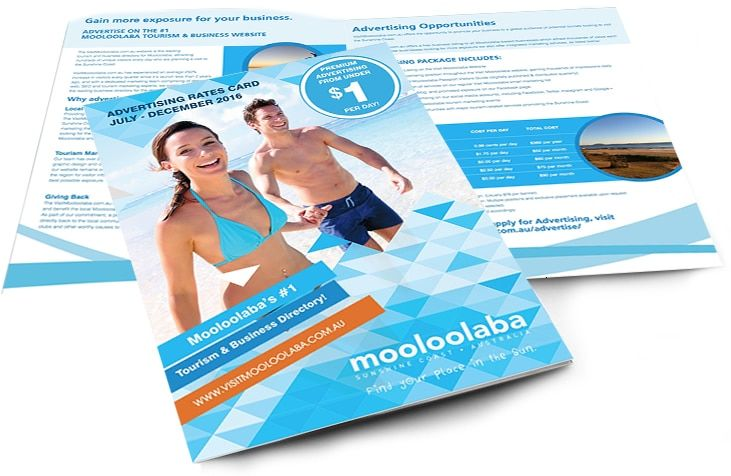 Sunshine Coast Brochure Design and printing services