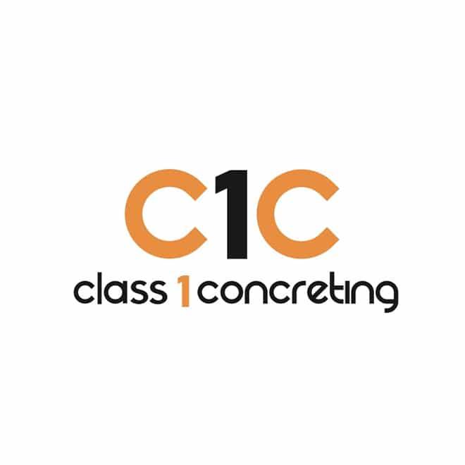 Class One Concreting Logo