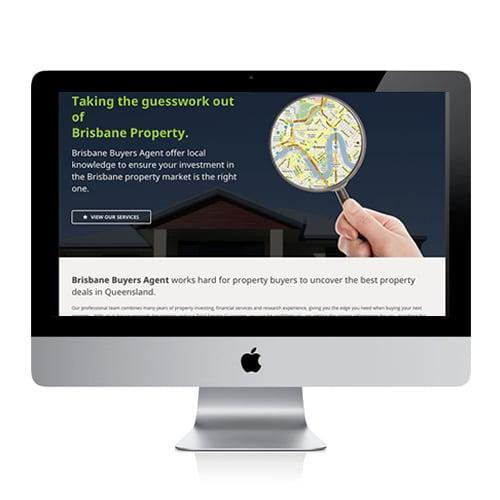 Brissy Property Buyers website design