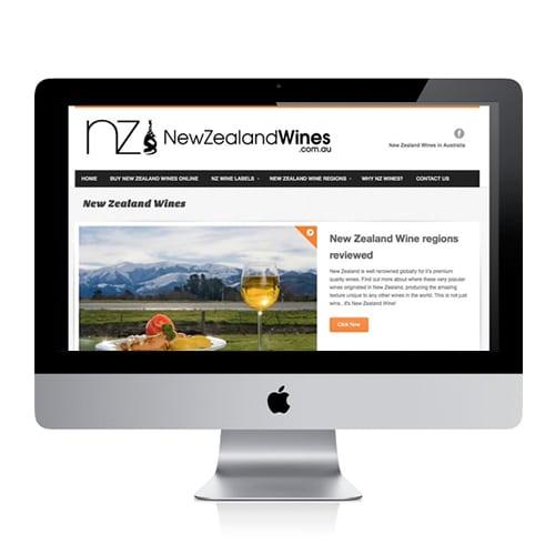 New Zealand Wines Website