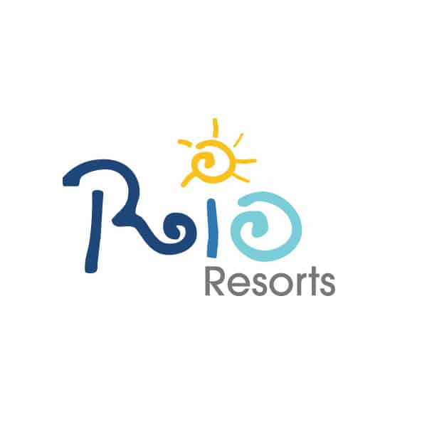 Rio Resorts logo design