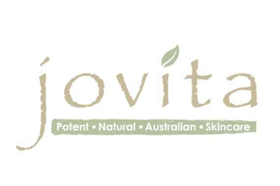 jovita natural skincare logo designs