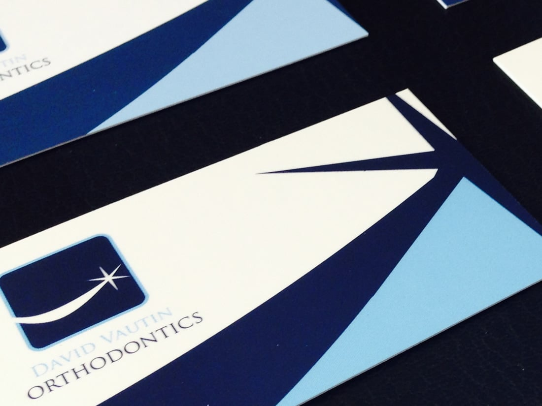 Orthodontics Business Cards