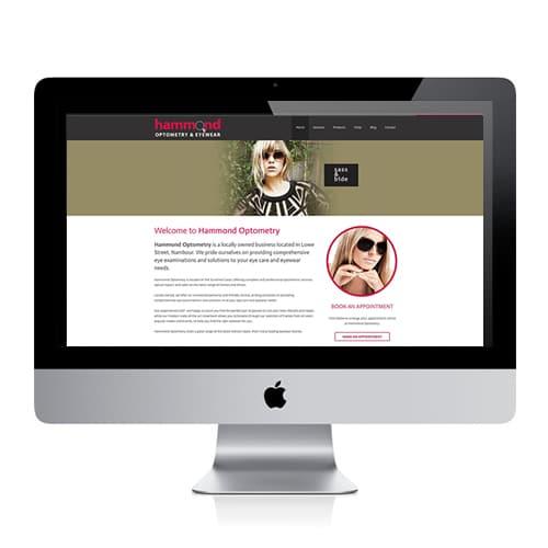 Hammond Optometry Website