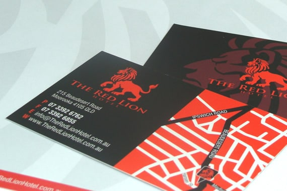 Red Lion Hotel Stationery