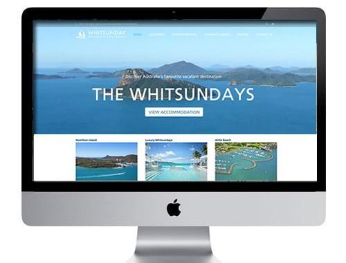 Whitsunday Tourism web design