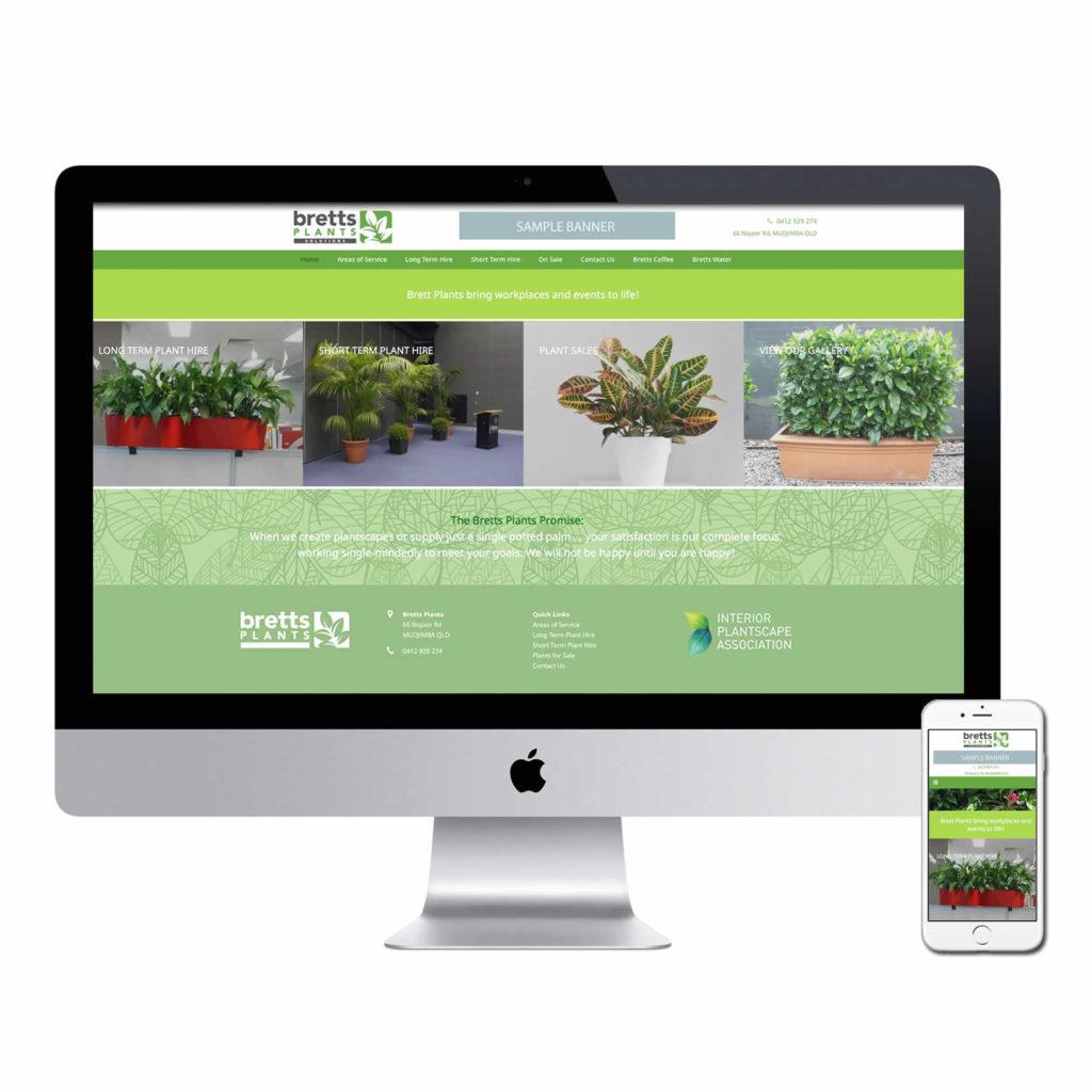 Sunshine Coast plant hire website