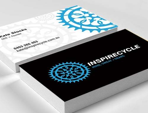 Inspire Cycle Business Cards
