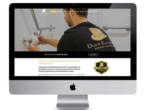 Donté Enterprises Cleaning Services