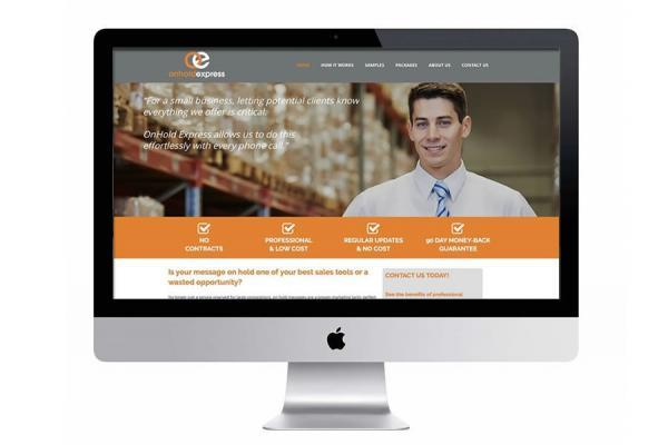 Onhold messaging website design services available Australia wide.