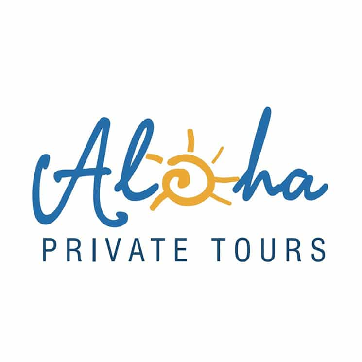 Aloha Private Tours Florida logo design