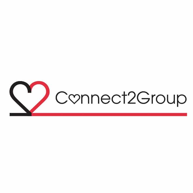 Connect 2 group Logo design