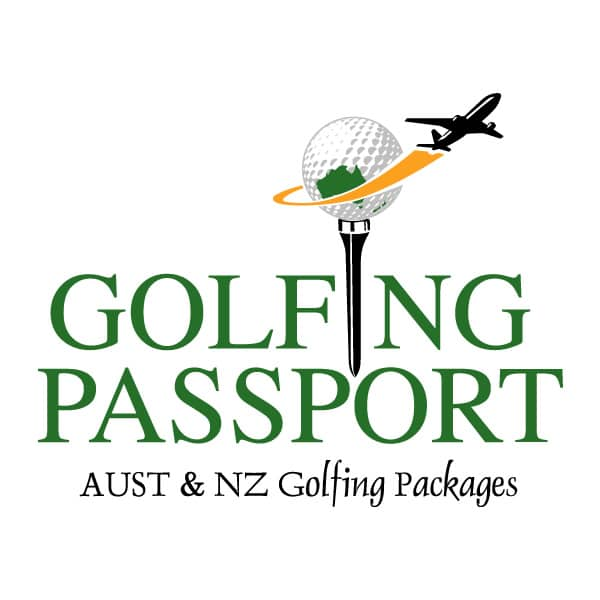 Golfing Passport logo design