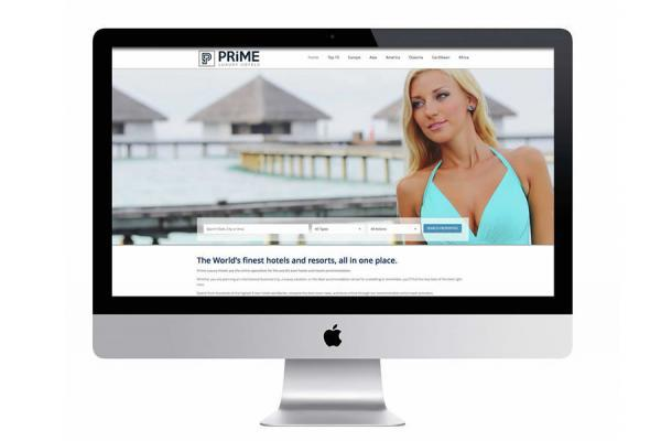 Website design for luxury hotels and resorts