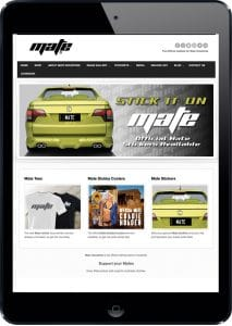 Official Mate clothing website