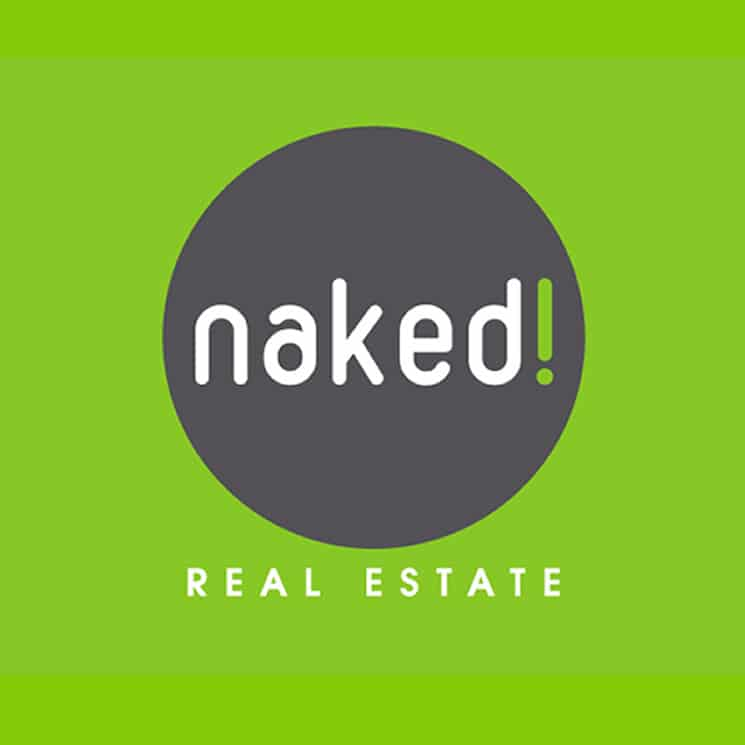 Naked real estate logo design