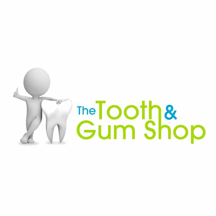 Tooth and Gum dental logo