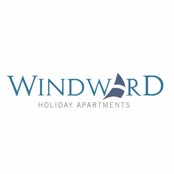 Windward holiday apartments logo design