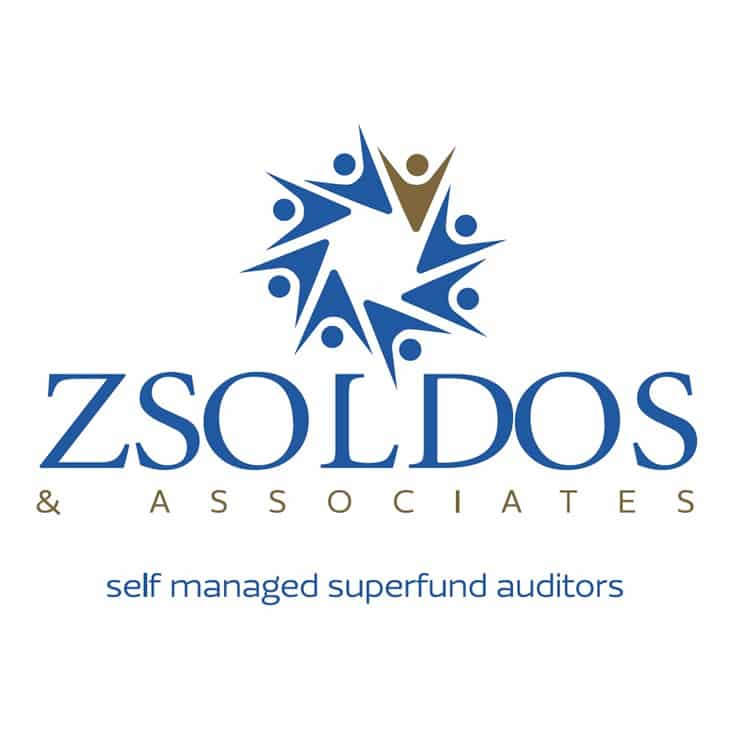 zsoldos and associates superfund logo design