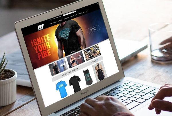 Sportswear website design services