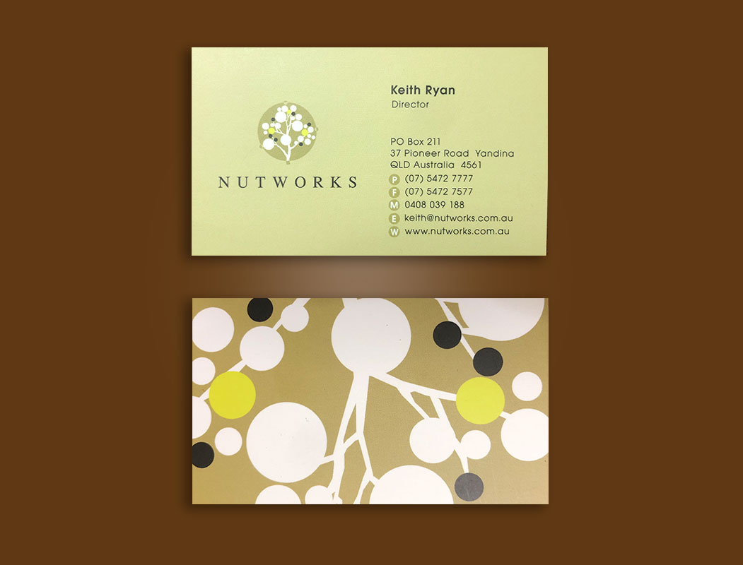 Nutworks Business cards printing