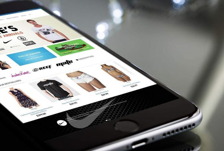 Online Shopping Website Design
