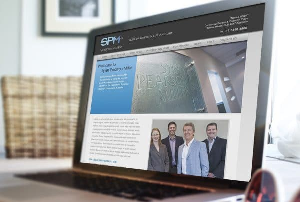 SPM Law website