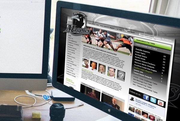 South Logan Magpies Sporting Club Web Desig