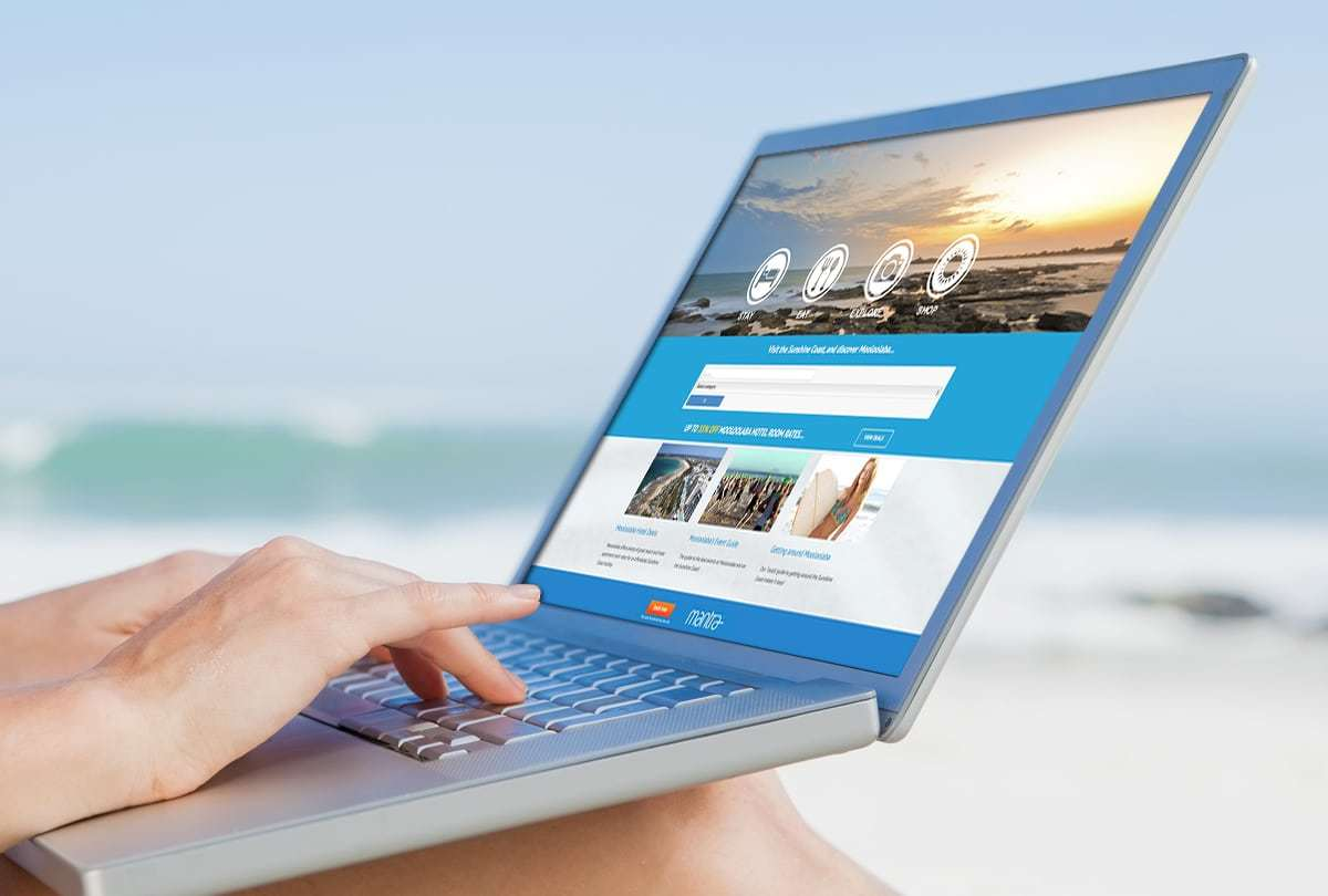 Mooloolaba Tourism website design