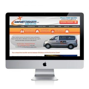 Airport transfer website design