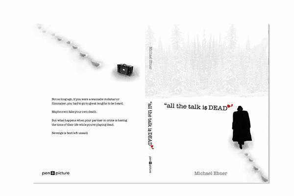 All the Talk is Dead Book Cover Design