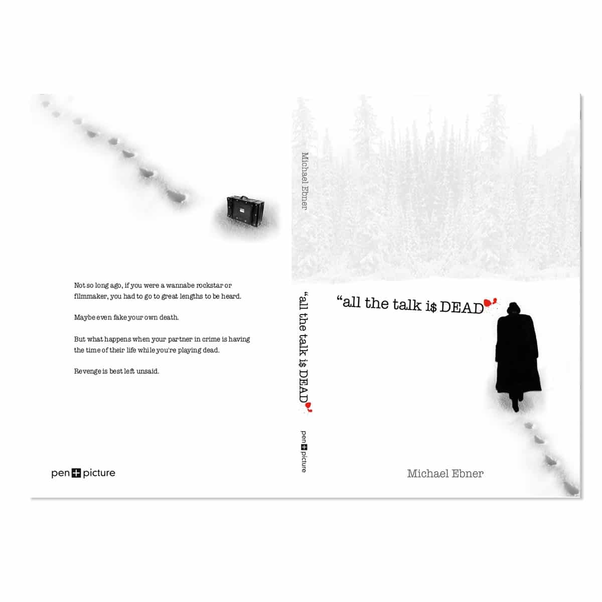 All the Talk Book cover design