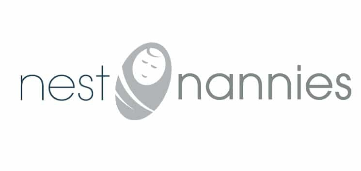 nest Nannies logo design