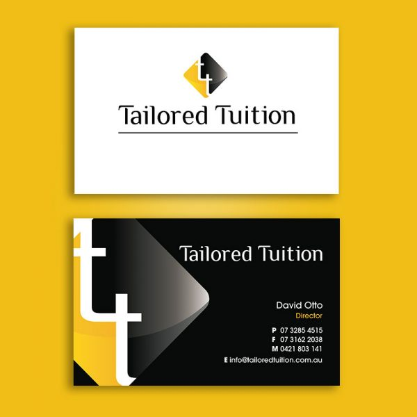 Tuition Business Cards design and printing