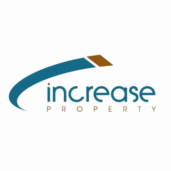 Increase Property real estate logo design