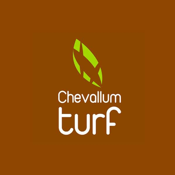 Chevallum Turf Logo design