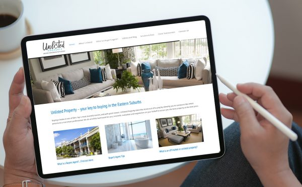 Sydney real estate web design