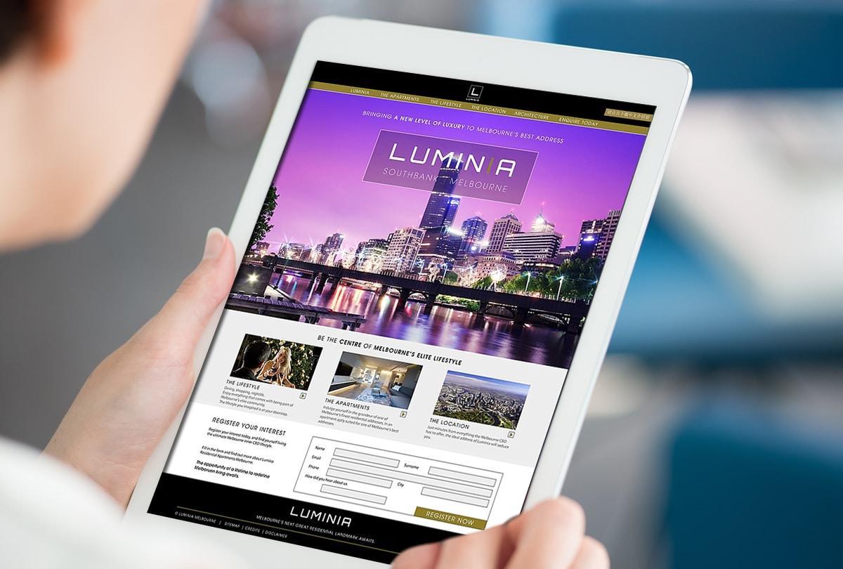 Melbourne Property Development website Design