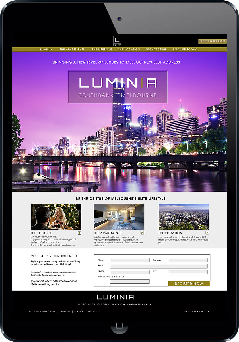 Melbourne online property marketing and logo design