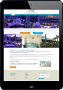 Waterfront Resort Sunshine Coast website