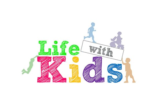 Blog logo design for Life with Kids