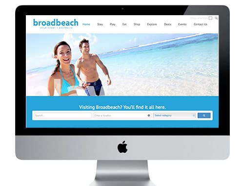 Visit Broadbeach tourism website