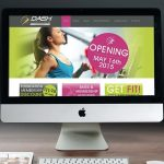 Dash Fitness Web Design