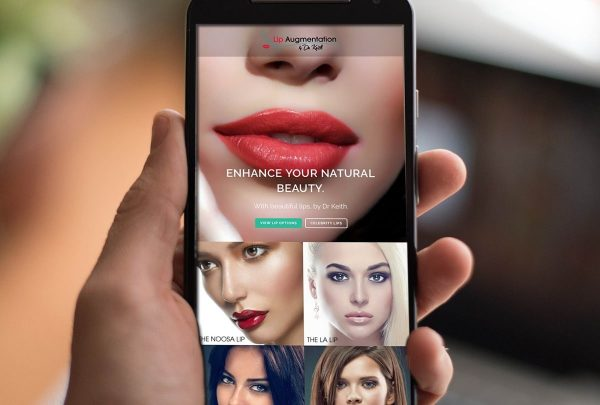Noosa Lip Augmentation Web Design