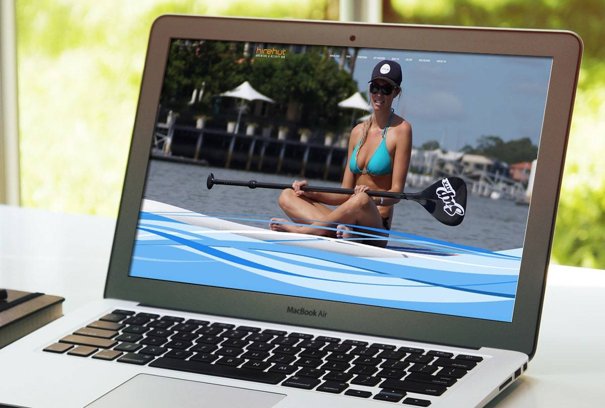 Sunshine Coast Tourist Attraction website design