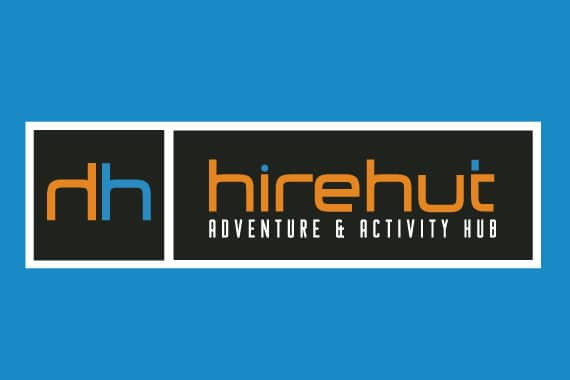 Mooloolaba tourism logo design for Hire Hut.