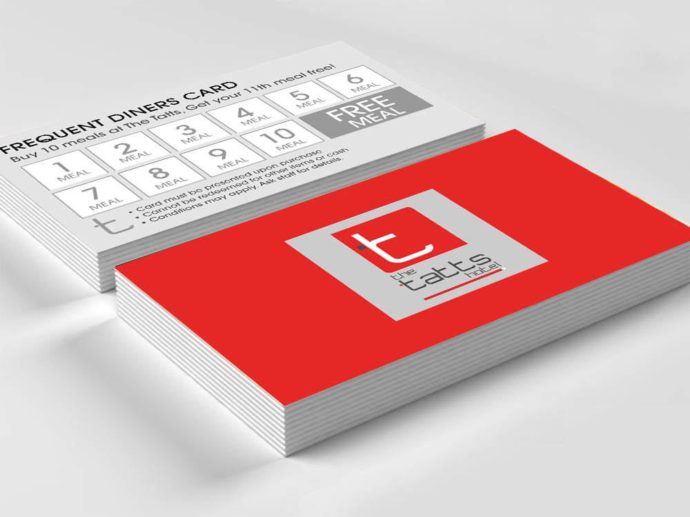 Hotel Business Card Design & Print | Smartfish Creative Agency