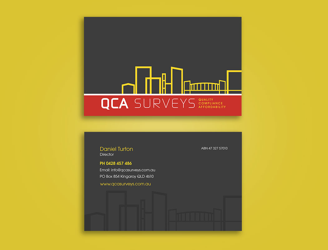 Surveyors Business Card Design & Print