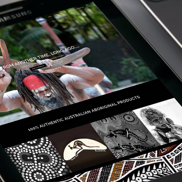 Aboriginal Art website design