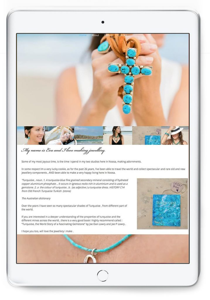 Noosa Jewellery Website Design